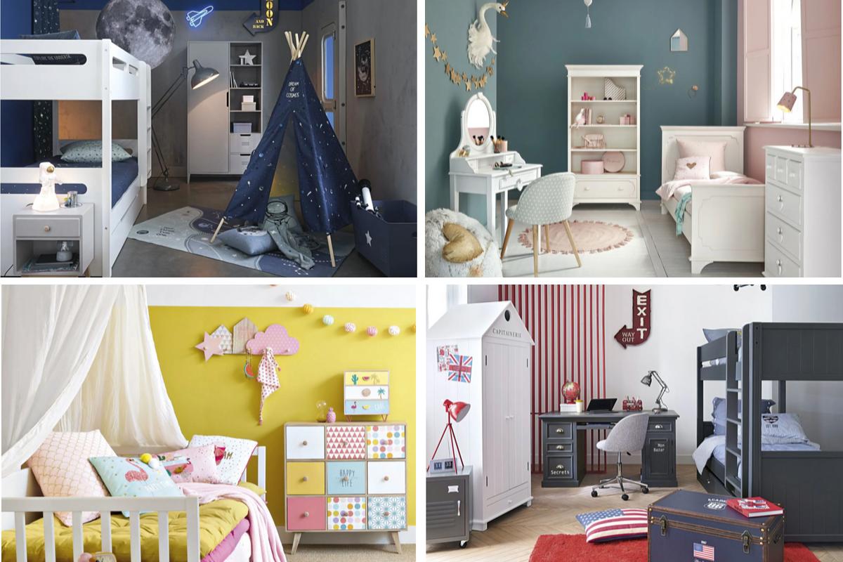 Inspirations chambres d\'enfant chez Maisons du Monde ...