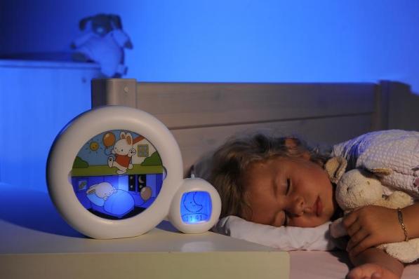 le r veil veilleuse pour enfant kid sleep avec indicateur de r veil et sommeil capital koala. Black Bedroom Furniture Sets. Home Design Ideas