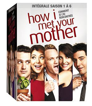 how i met your mother dvd