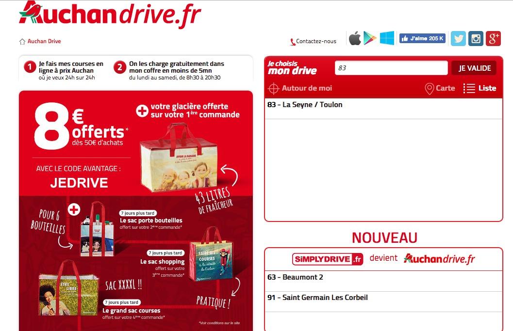 Auchan drive fr - Carte de fidelite auchan fr ...