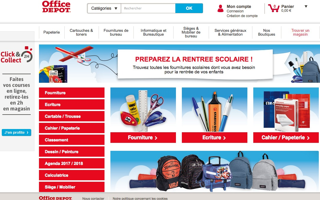Fournitures scolaires office depot capital koala - Fourniture scolaire office depot ...