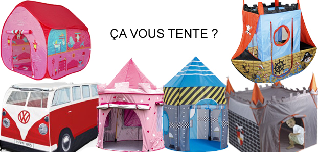 les tentes et cabanes pour enfants capital koala. Black Bedroom Furniture Sets. Home Design Ideas